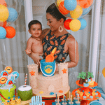 """Kelly Key comemora aniversário de filho com tema """"praia"""" - Reprodução/Instagram/oficialkellykey"""