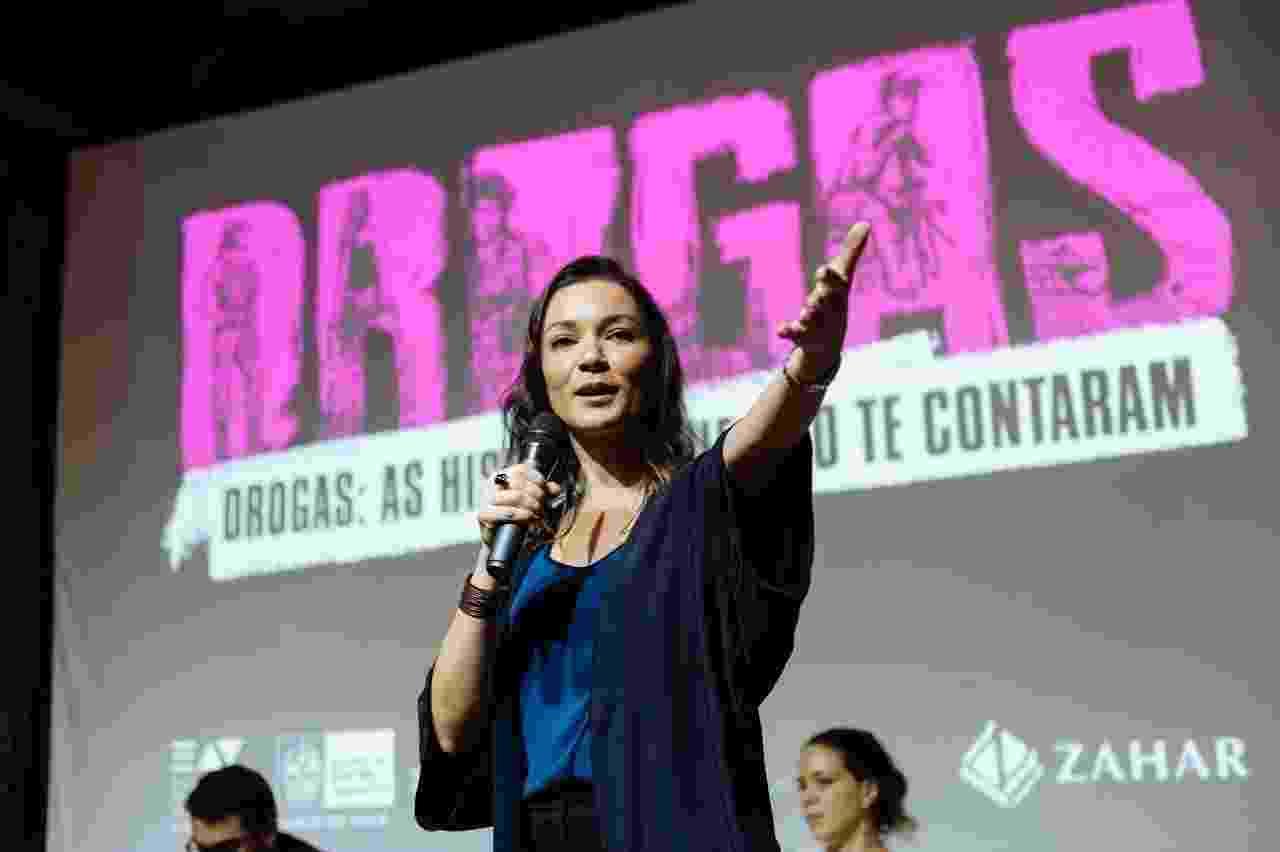 """No lançamento do livro """"Drogas: histórias que não te contaram"""", no Rio de Janeiro - Juan Dias"""