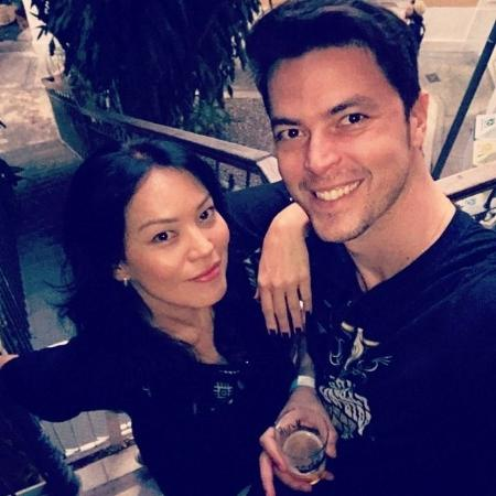 Geovanna Tominaga e Eduardo Duarte - Reprodução/Instagram/geovannatominaga