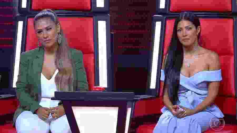 """Candidato indígena emociona Simone e Simaria no """"The Voice Kids"""" - Reprodução/GShow"""