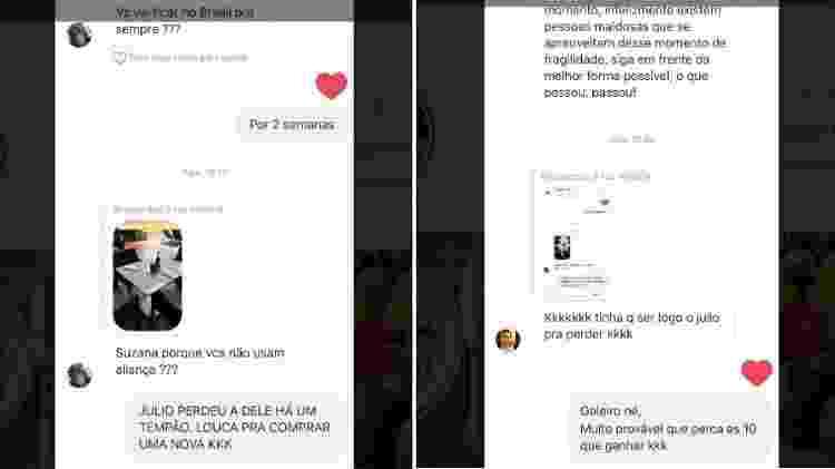 Susana Werner explica porque ela e Julio Cesar não usam mais alianças - Reprodução/Instagram - Reprodução/Instagram