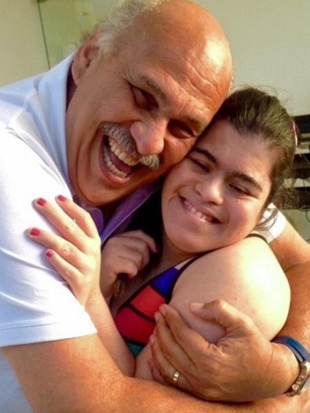 Márcio Canuto posta foto ao lado de filha no Dia Mundial com Síndrome de Down - Reprodução/Instagram/marciocanuto