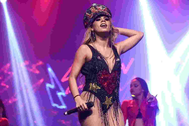 Lexa faz show em abertura de sua turnê - Roberto Filho/Brazil News