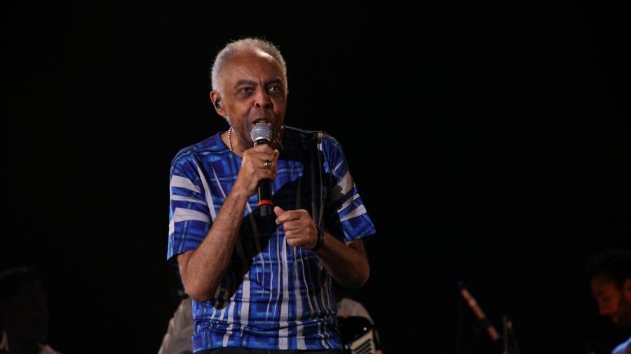 Gilberto Gil vai se apresentar amanhã junta de Erasmo Carlos, em live beneficente - Deividi Correa/AgNews
