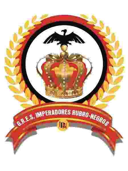 Logo da escola Imperadores Rubro-Negro - Wilton Carlos/Divulgação - Wilton Carlos/Divulgação