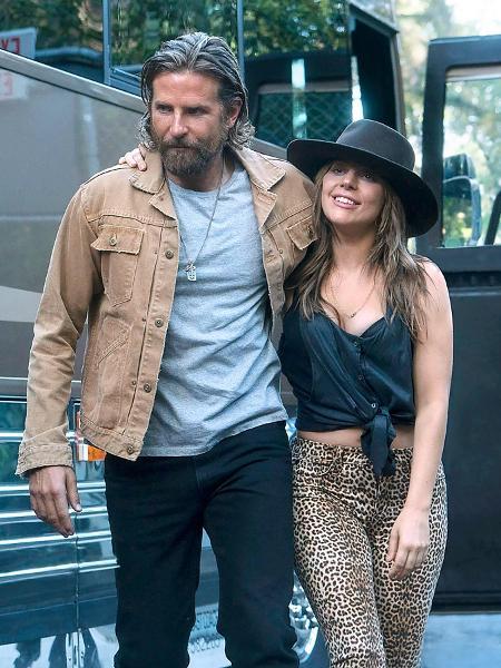 """Bradley Cooper e Lady Gaga em """"Nasce uma Estrela"""" - Divulgação"""