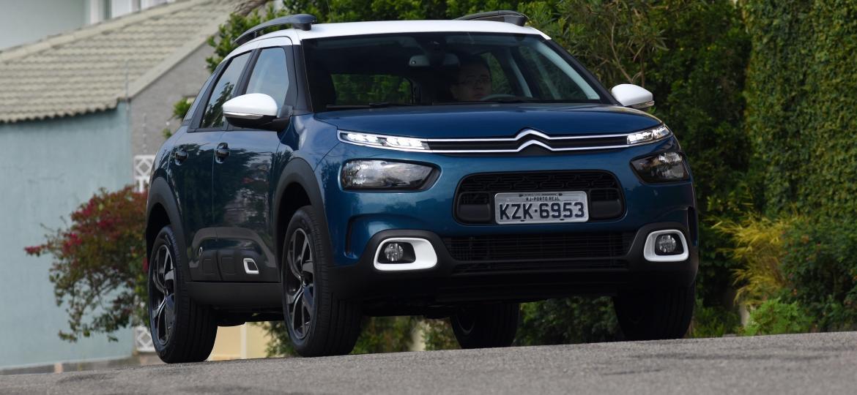 """Citroën C4 Cactus é mais um """"player"""" na disputa de um dos segmentos mais concorridos do Brasil, o de SUVs compactos - Murilo Góes/UOL"""