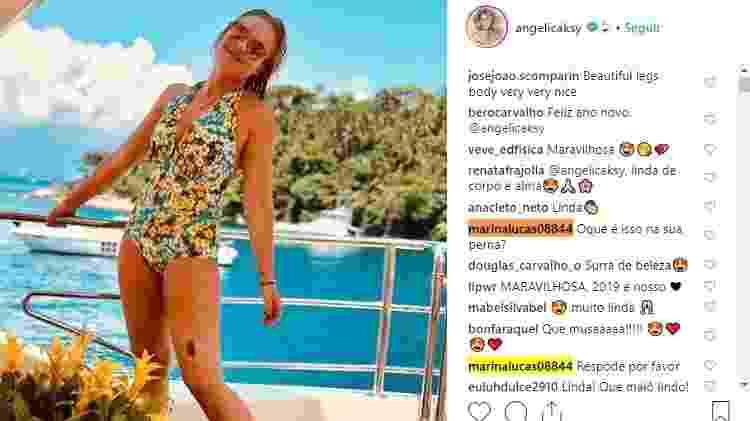angélica pinta 1 - Reprodução Instagram - Reprodução Instagram