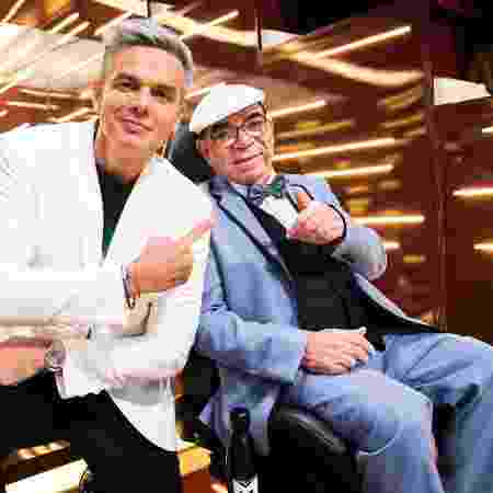 Otaviano Costa e Rui Chapéu  - João Miguel Júnior/TV Globo - João Miguel Júnior/TV Globo