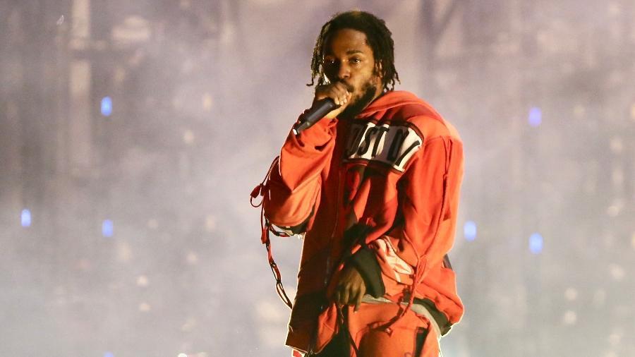 Kendrick Lamar em show no Lollapalooza Brasil 2019, em São Paulo - Manuela Scarpa/Brazil News