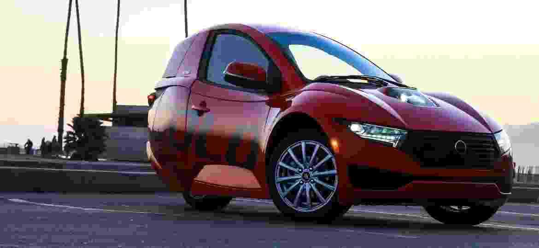 SOLO, carro elétrico de três rodas - Divulgação