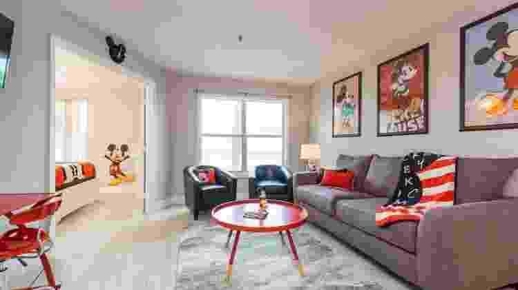 Casa da Flórida com decoração do Mickey - Divulgação/Airbnb - Divulgação/Airbnb