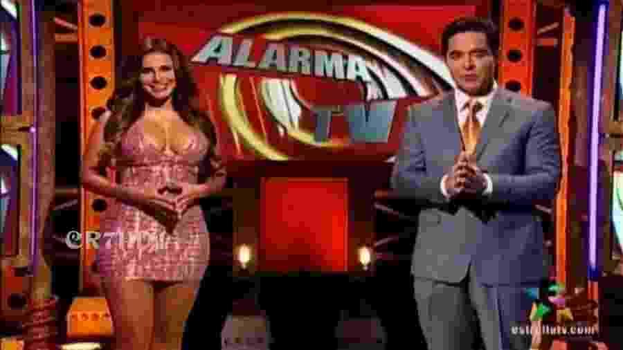 Os apresentadores do Alarma TV - Reprodução / YouTube
