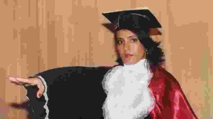 Janicleia de Souza Soares estudou direito para fazer justiça para o pai - Arquivo pessoal