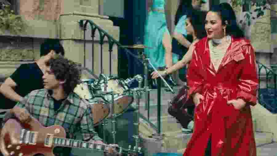 Cena do novo clipe de Demi Lovato - Reprodução / Youtube