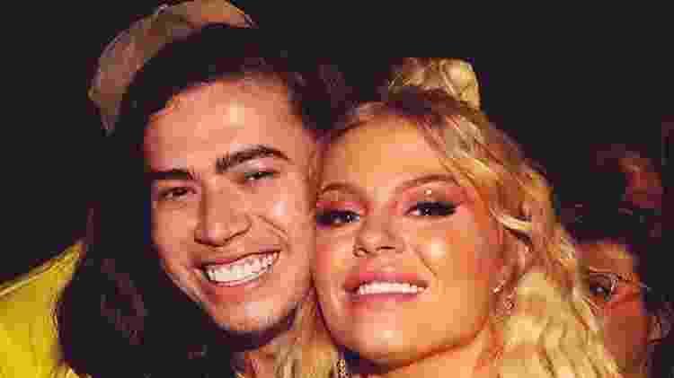 Luísa Sonza com o o ex-namorado, Whindersson Nunes - Reprodução - Reprodução