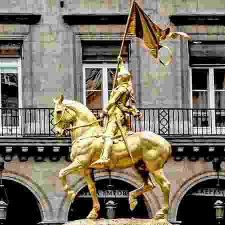 Joana d'Arc foi queimada viva quando tinha 19 anos - Wolfgang Claussen