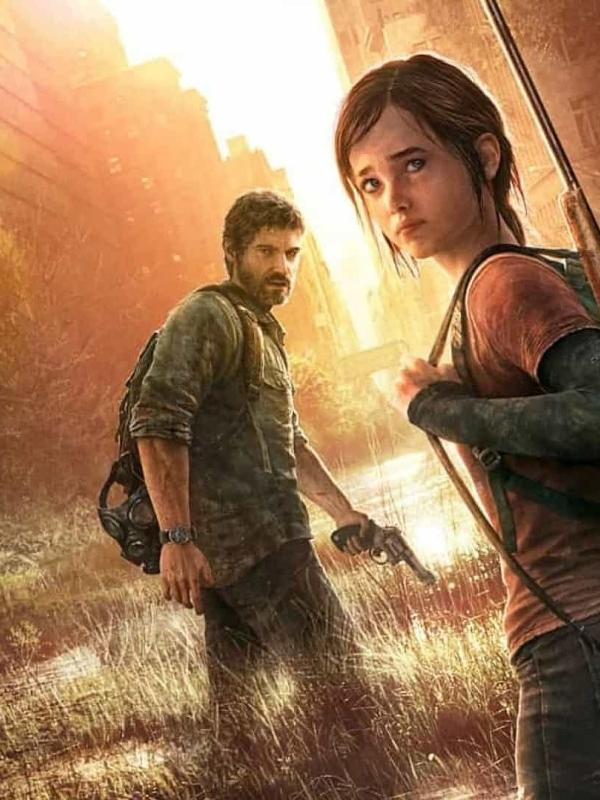 "Capa do primeiro game ""The Last of Us"""