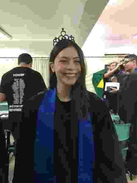 Isabelly Moraes Veríssimo dos Santos vai fazer faculdade de neurociências - Arquivo pessoal