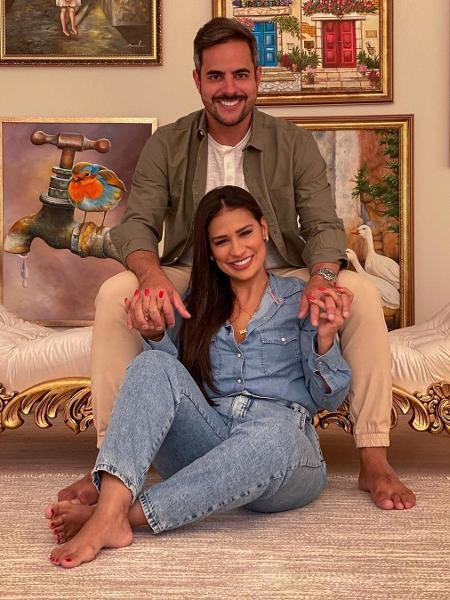 Simone e o marido, o empresário Kaká Diniz - Reprodução/ Instagram