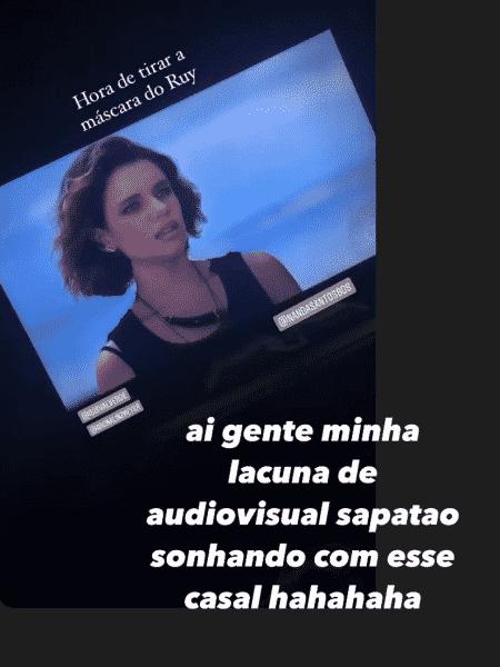 bruna isis - Reprodução/Instagram/@brunalinzmeyer - Reprodução/Instagram/@brunalinzmeyer