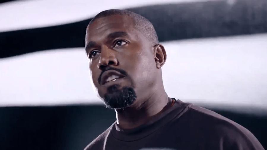 Kanye West em comercial da sua campanha para a presidência dos EUA - Reprodução/Twitter