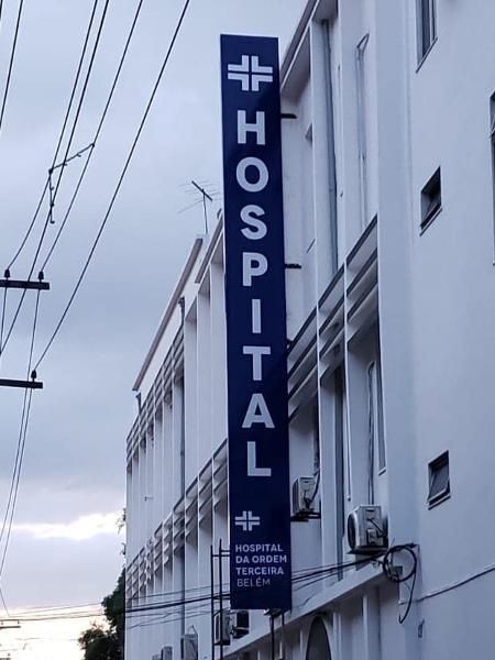 Hospital da Ordem Terceira em Belém, no Pará - Reprodução/Facebook oficial