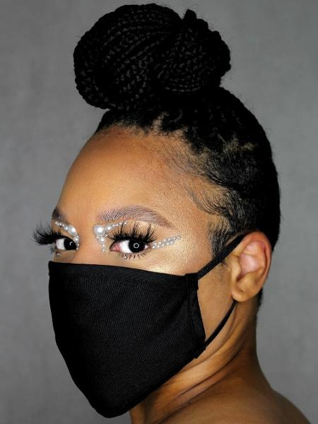 Com o uso de máscaras, destaque da make passa a ser os olhos - Reptodução Instagram @silenthmakeup