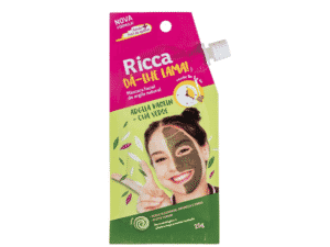 Máscara de argila natural da Ricca - Divulgação - Divulgação