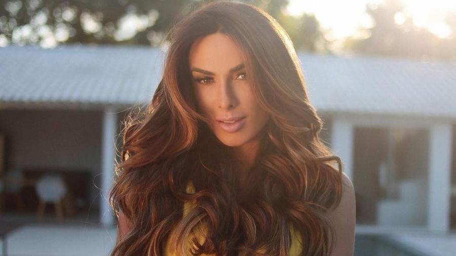 Nicole Bahls participará de reality em que se transformará em drag queen - Reprodução/Instagram