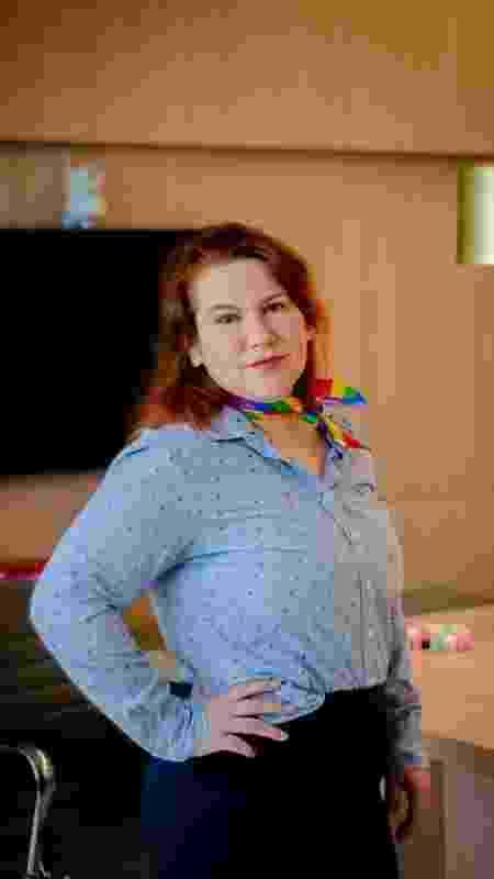 A advogada intersexo Mônica Porto é presidente da Comissão LGBTQI+ da OAB/SE - Arquivo pessoal - Arquivo pessoal