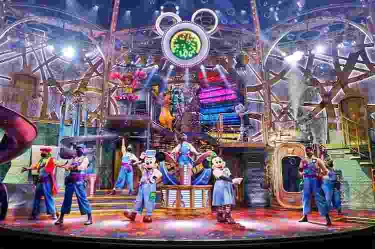 Cena do espetáculo Disney Junior Dream Factory, que estreou na Disney de Paris - Divulgação - Divulgação