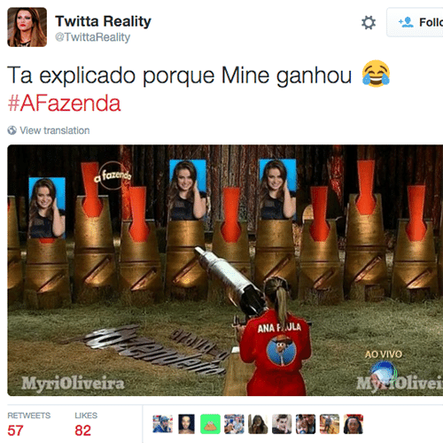 26.nov.2015 - Rixa entre Ana Paula e Rayanne gera piadas na web
