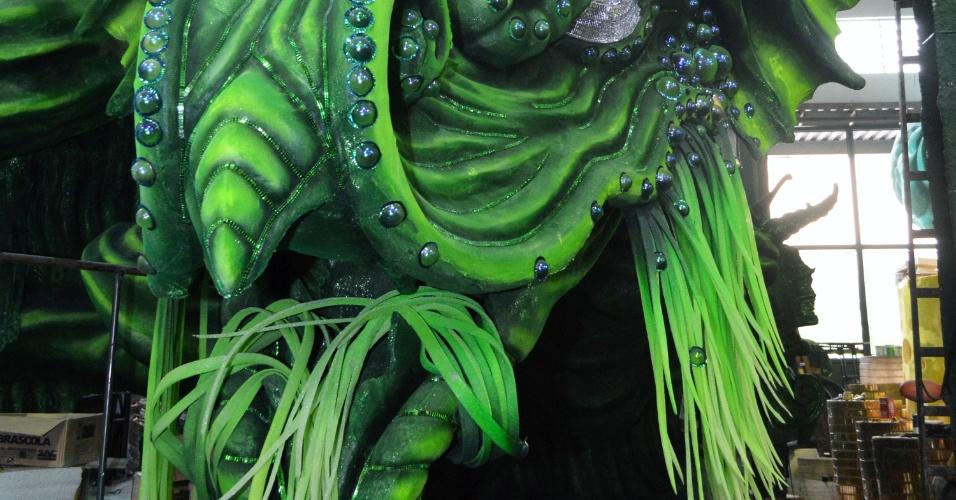 A Mocidade Independente de Padre Miguel desfila no domingo de Carnaval, a partir das 1h50, no grupo especial do Rio de Janeiro
