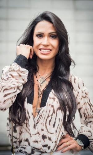 Gracyanne Barbosa é a rainha de bateria convidada para integrar o júri do