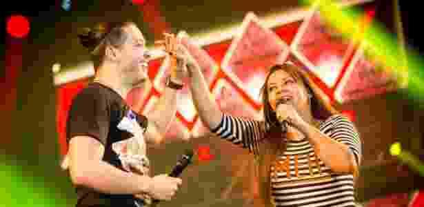 """Marcia Fellipe e Wesley Safadão cantaram juntos na """"Garota Safada"""" durante três anos  - Divulgação/Ederson Lima"""