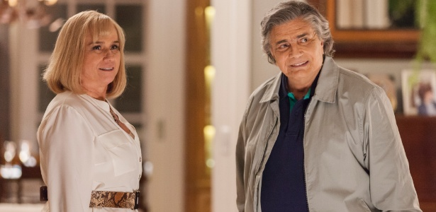 """Em """"A Lei do Amor"""", Tarcísio Meira e Vera Holtz serão casal mau-caráter - Artur Meninea/TV Globo/Divulgação"""