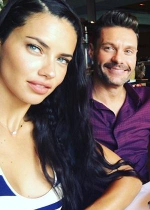 Adriana Lima está namorando Ryan Seacrest - Reprodução/Instagram/adrianalima