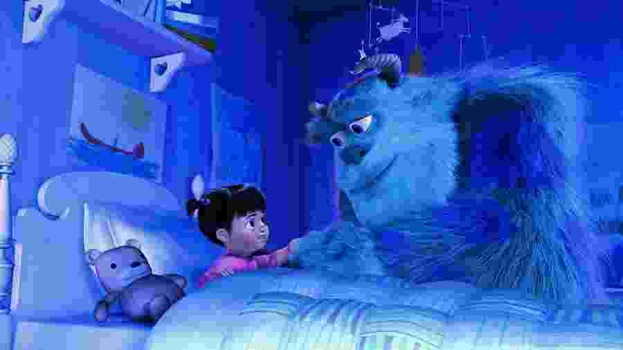 """""""Monstros S.A."""", filme de 2001 dos estúdios Pixar, será exibido hoje pela Globo na """"Sessão da Tarde"""" - Reprodução"""
