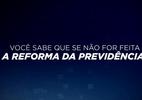 SBT exibe propagandas próprias a favor da reforma da Previdência (Foto: Reprodução/SBT)