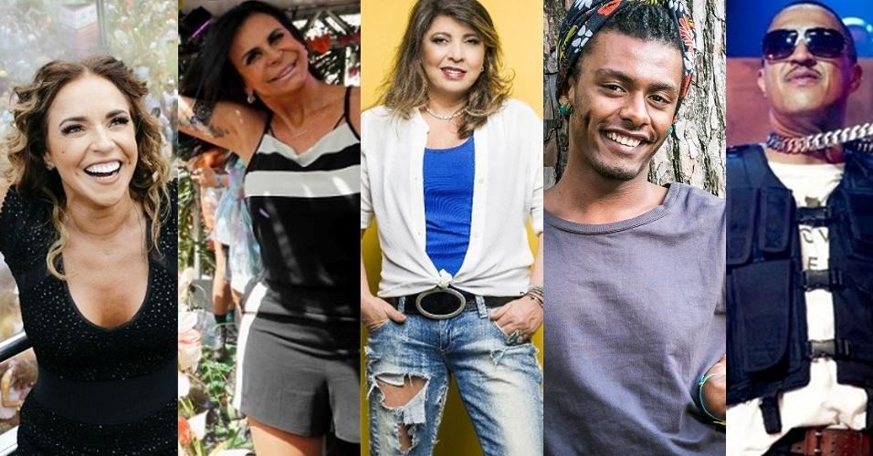 Daniela Mercury, Gretchen, Roberta Miranda, Liniker, Mano Brown, Erasmo Carlos e MC Gui: atrações da Virada Cultural 2017