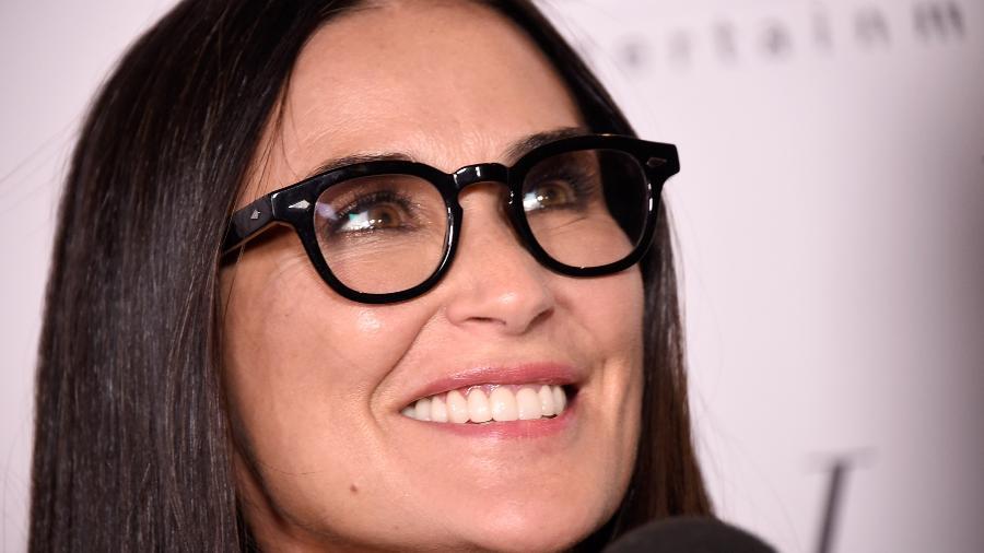 Demi Moore estreia dentes novos em premiere - Getty Images
