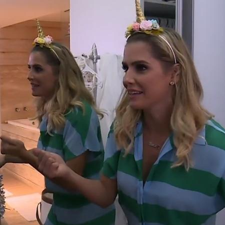 Deborah Secco usa tiara de unicórnio - Reprodução