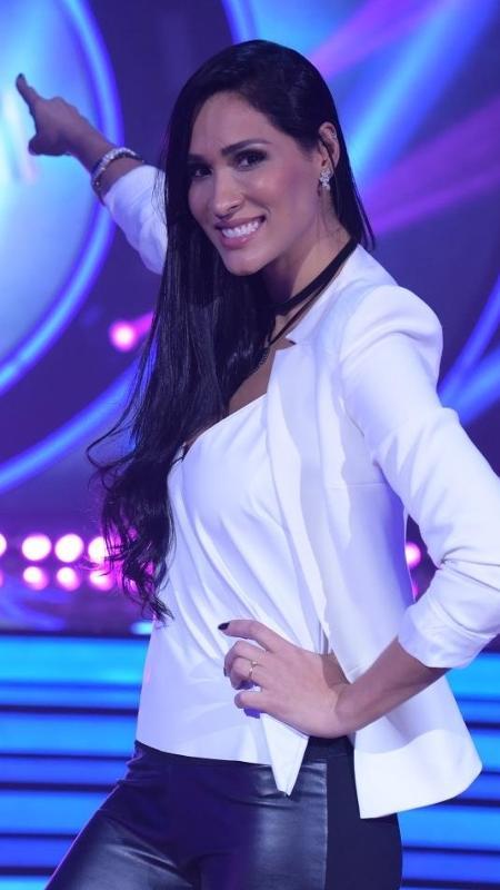 """Jaque Carvalho é uma das participantes do """"Dancing Brasil"""" - Divulgação/Record TV"""
