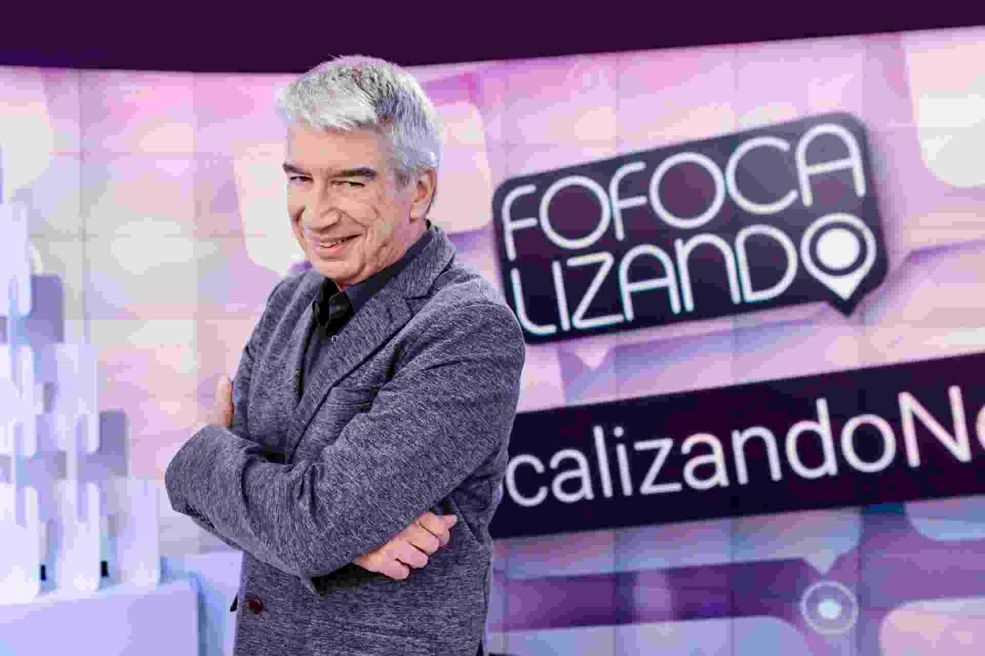 """Décio Piccinini no """"Fofocalizando"""" - Gabriel Cardoso/SBT"""