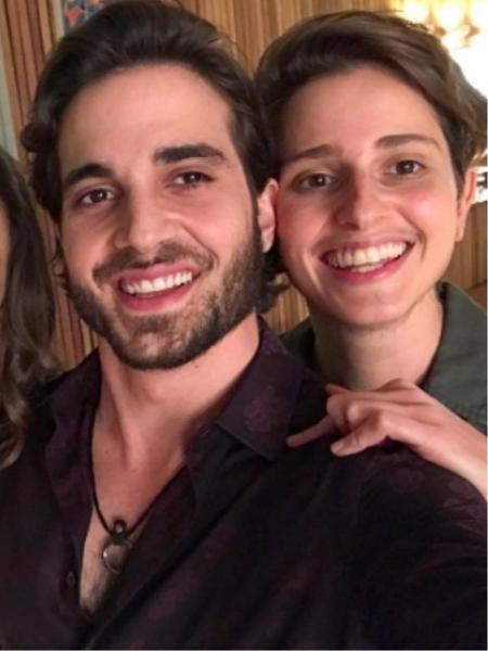 Fiuk ao lado de Claudia Mello, Maria Fernanda Cândido e Carol Duarte - Reprodução/Instagram/fiuk