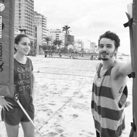 """Gabriel Stauffer e Carol Duarte em cena de """"A Força do Querer"""" - Reprodução/Instagram/gabrielstauffer"""