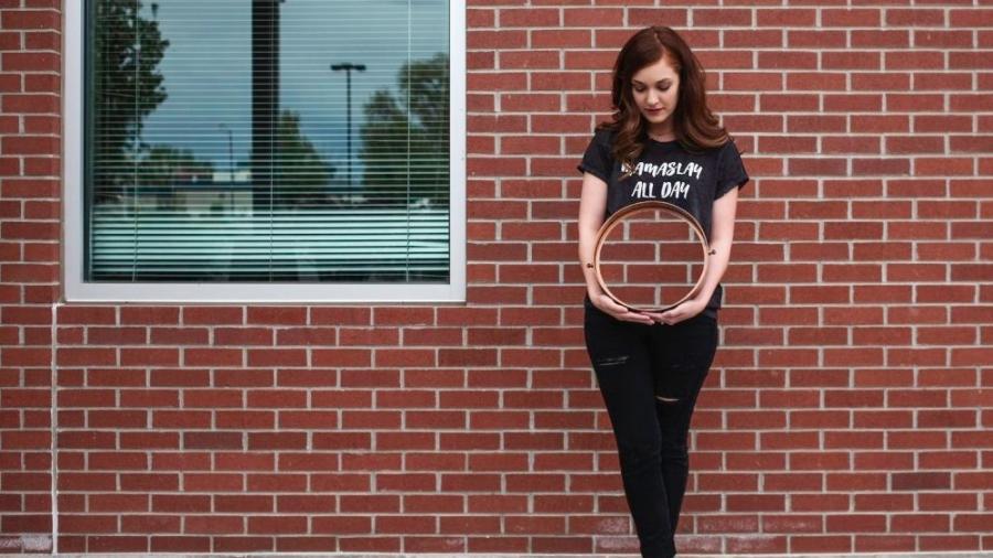 Cassie, uma das mulheres clicadas para o Empty Photo Project - Reprodução/Instagram