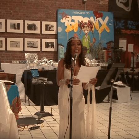 O casamento de Mariposa Fernandez com Porto Rico - Reprodução/Youtube
