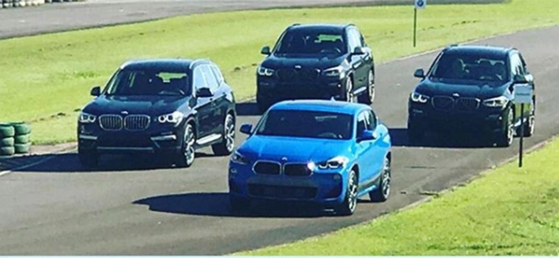 BMW X2 é menor do que o X1, mas terá preço perto do X3 - Reprodução/Instagram